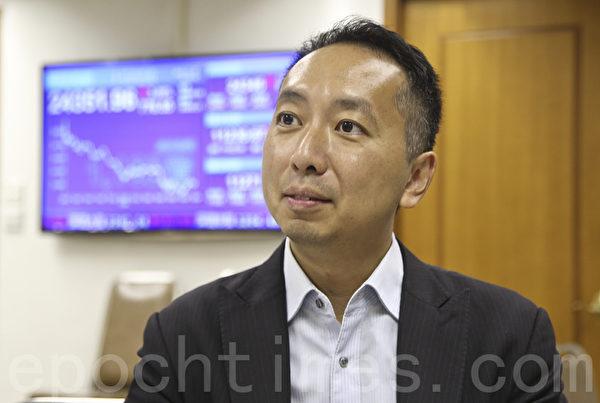 信诚证券联席董事张智威认为,今次大跌市显示出市场信心不足,对后市亦不看好。(余钢/大纪元)