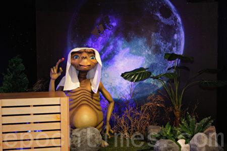 人們一直在探討外星人及外星文明是否存在?圖為科幻電影中外星人的造型。(攝影:羅郁棠 /大紀元)