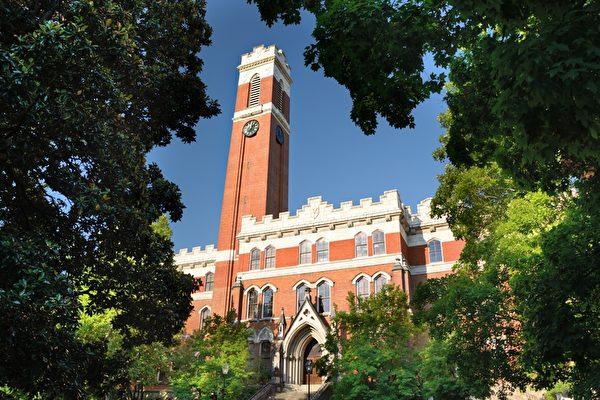 被譽為「南方哈佛」的范德堡大學,是美國著名的私立研究型大學。(Fotolia)