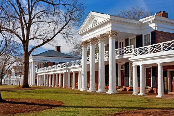 弗吉尼亞大學(University of Virginia)是美國唯一被聯合國教育科學文化組織列為世界遺產的高等院校。(Fotolia)