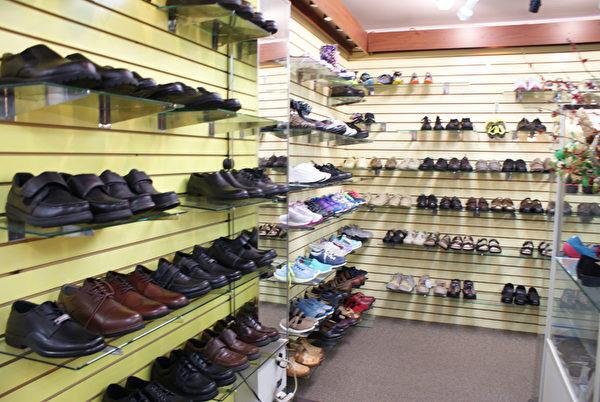 特殊鞋--夏季保健鞋。(李長樂/大紀元)