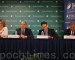 7月3日華府智庫的研討會上,與會專家認為,美中網絡經濟戰已經打響。(蕭桐/大紀元)