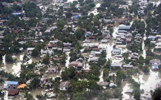 缅甸洪灾灾情惨 美将宣布援助方案