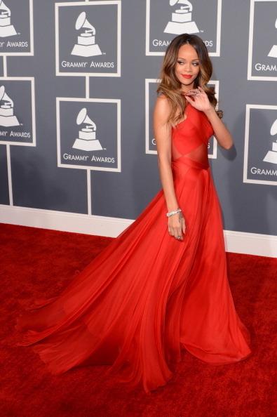 歌手蕾哈娜。(Photo by Jason Merritt/Getty Images)