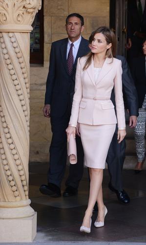 西班牙雷蒂西亞王妃。(C Flanigan/Getty Images)