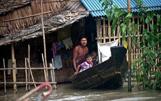 组图:缅甸洪患 死亡增至88人