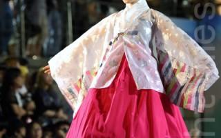 韓國東大門「水上韓服秀」再現傳統之美