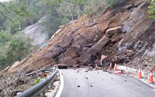 新北坪双产业道路崩塌 开挖抢救