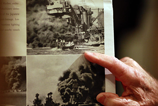 每年美国都举办活动纪念珍珠港事件。(Justin Sullivan/Getty Images)