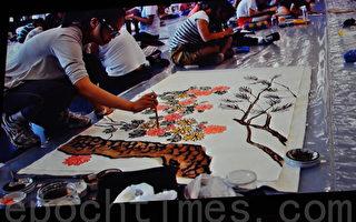 第三届青少年现场绘画大赛加国列市闭幕