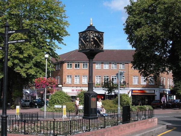 鎮中心街景。(Grosvenor Billinghurst 提供)