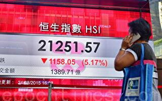 全球爆发股灾 震央在中国