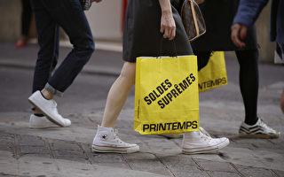 旅游区商业活动是巴黎经济增长的一大支柱。(KENZO TRIBOUILLARD/AFP/Getty Images)