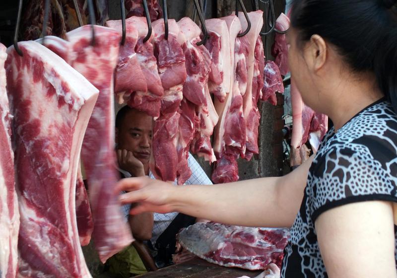端午節臨近 大陸蔬果豬肉雞蛋價格共振