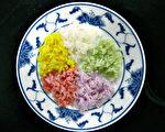 不同色彩的食物有着不同的营养功效。 (花莲农改场提供)