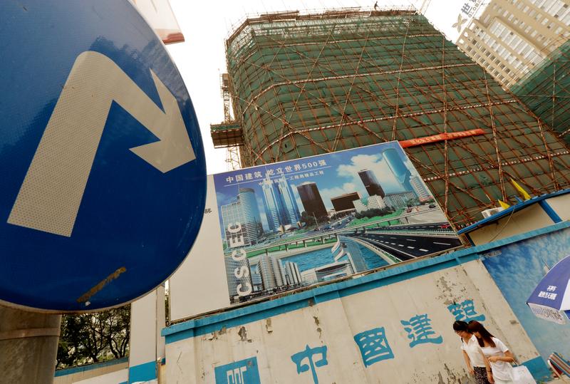 在貿易緊張局勢升溫下,在中國的投資正在萎縮。(MARK RALSTON/AFP/Getty Images)