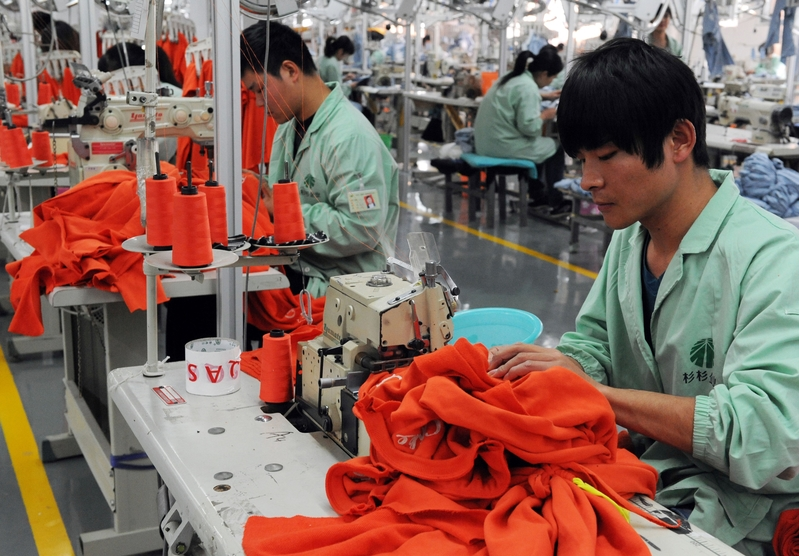 大陸服裝企業九成業績下滑 營收或減4000億