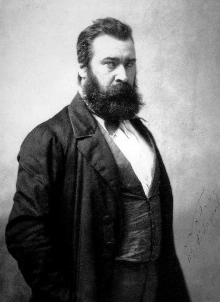 1857年的米勒。(维基百科公共领域)