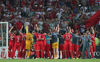 法国欧洲杯预选赛 荷兰三球惨败出线渺茫