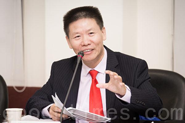 中國牧師傅希秋。(陳柏州/大紀元)