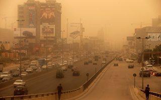 沙塵暴席捲中東 8死數百人呼吸不適