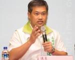 高雄市議員蕭永達9日表示,我們聲援中國人權,其實就是在聲援自己。(鄭順利/大紀元)