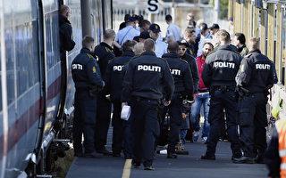 難民潮北上 丹麥停駛往返德國列車封鎖公路