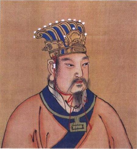 周文王画像。(公有领域)