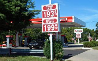 聖誕節期間 美國油價或跌至每加侖$1.5