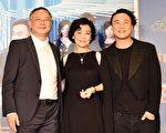杜琪峯、张艾嘉、陈奕迅出席香港首映会。(甲上娱乐提供)