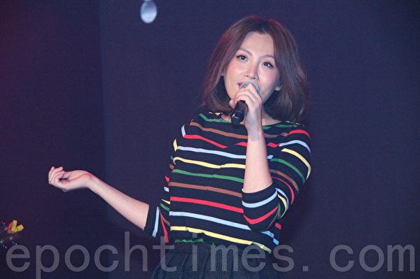 """""""Desire Party流行音乐派对""""于2015年9月19日在台北举行。图为魏如萱。(黄宗茂/大纪元)"""