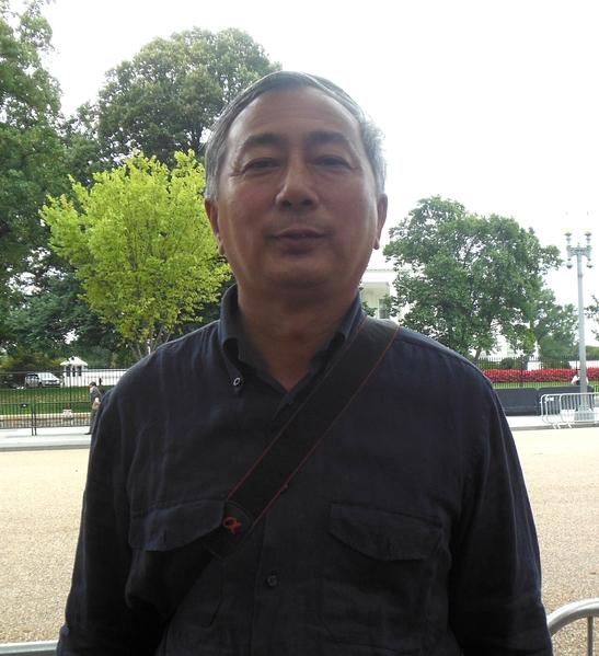 中國民主黨全國聯合總部副主席唐元雋(李辰/大纪元)