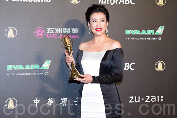 教育文化节目主持人奖:方念华/TVBS看板人物(报名单位:联意制作股份有限公司)。(许基东/大纪元)