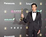 戲劇節目男主角獎由藍正龍以《妹妹》中的精湛演出獲得。(許基東/大紀元)