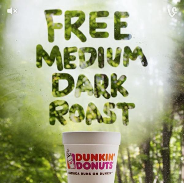 為慶祝「咖啡日」,Donkin' Donuts 今天免費為消費者提供中杯偏濃咖啡,冷熱任選。(圖片來自Donkin' Donuts官網)