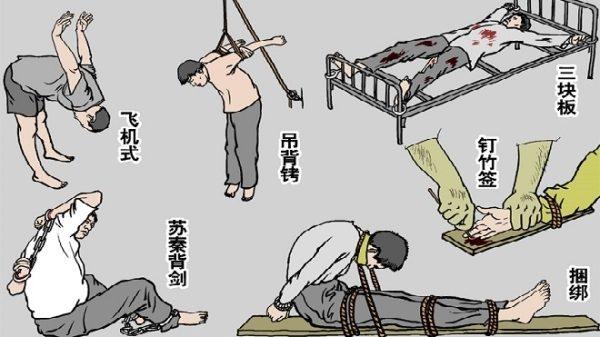 中共酷刑:利用動物摧殘人(下)