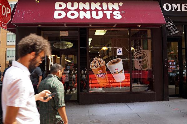 早餐市场竞争大 邓肯甜甜圈全美关百店