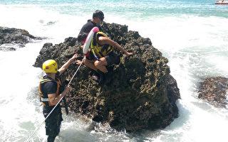 11陸客臺墾丁潛水體力不支求救 全數上岸