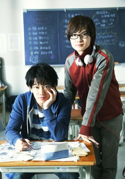 佐藤健與神木隆之介主演的《爆漫王》獲得日本當周票房冠軍。(天馬行空提供)
