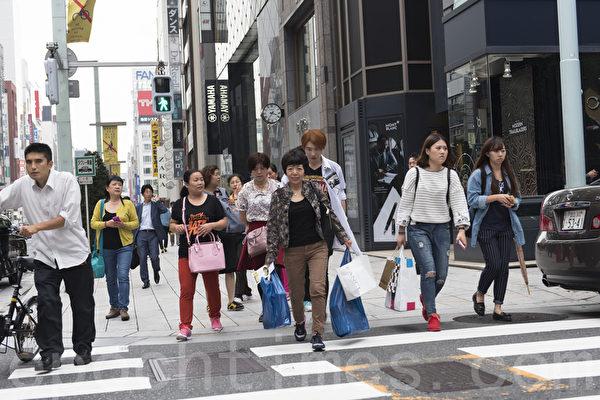 日本各地商家備足貨源應對中國遊客「十一爆買」