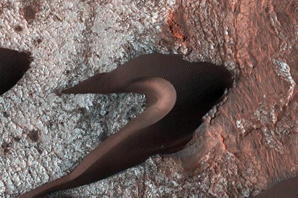 NASA火星沙丘新照片 你能看出像什么
