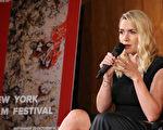 凯特.温斯莱特现身纽约电影节,被邀请出席答问会,宣传新片《史蒂夫.乔布斯》。(Neilson Barnard/Getty Images)