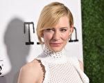 10月5日,奧斯卡影后凱特‧布蘭切特出席其主演的《世紀真相》好萊塢首映禮。(Jason Merritt/Getty Images)