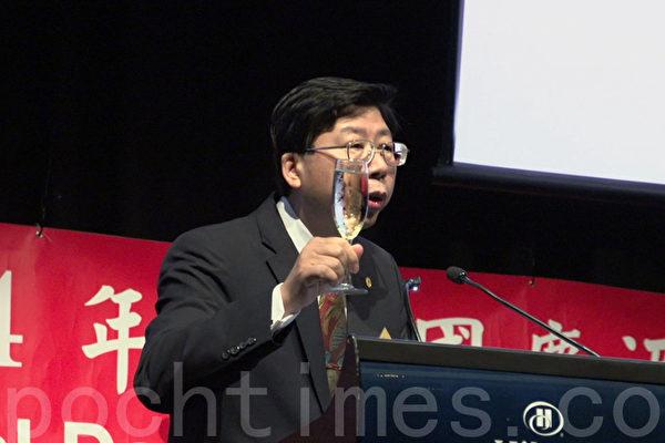 布里斯本雙十國酒慶會政要表揚臺灣貢獻