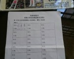 新北市議員林秀惠簽署訴江(黃筠芸/大紀元)