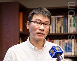 針對中共前領導人迫害行為發起訴訟活動,台北市議員梁文傑15日表示,是一個很正確的行為,他相當支持,會對其造成一定的壓力。(陳柏州/大紀元)