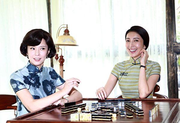 《一把青》主演天心(左)与杨谨华。(公视提供)