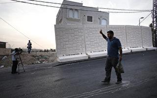 防巴人攻击 以色列筑高墙