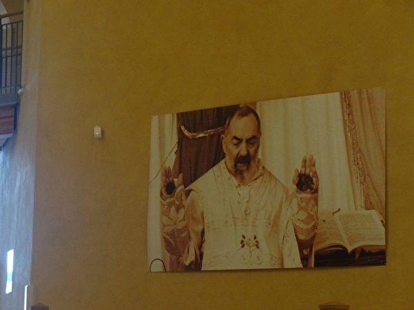 畢奧修士身體出現基督聖痕長達五十年(攝影:劉佳麗/大紀元)