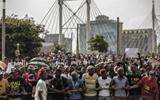 南非大學費用飆漲  學生抗議蔓延全國